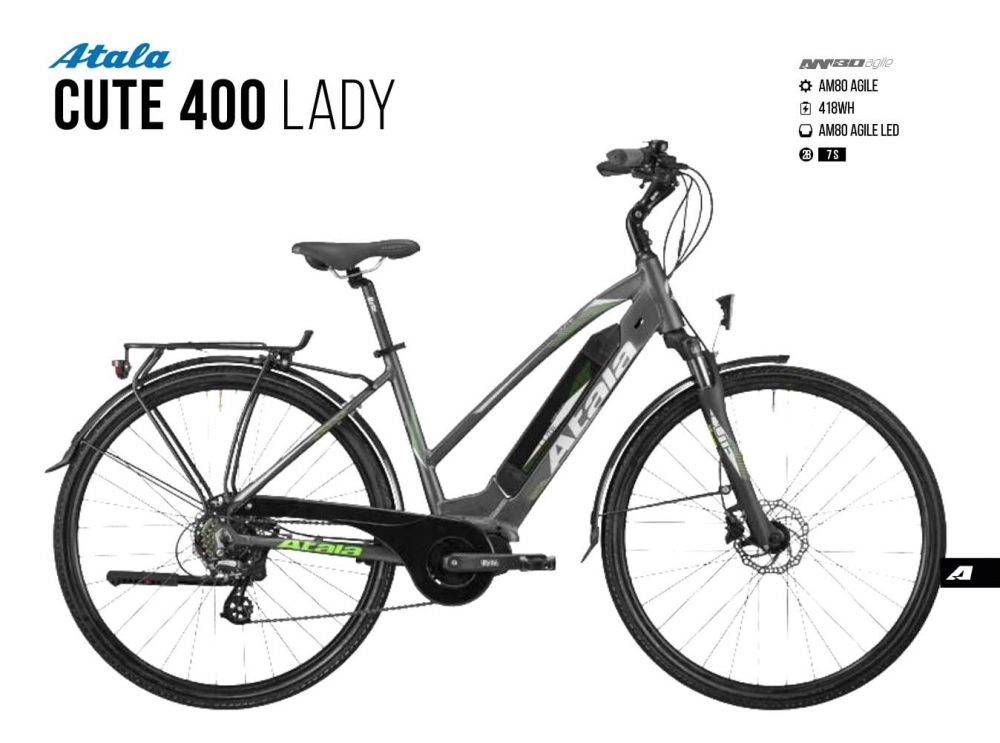Atala Cute 400 lady | Am 80 Agile | Battery 400 wh