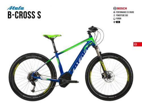 Atala B-Cross S | Bosch CX | PowerTube 500 wh