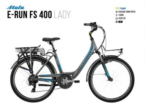 Atala E-Run Fs 400 lady | Battery 418 Wh 1