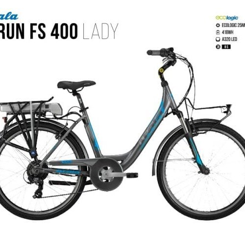 Atala E-Run Fs 400 lady | Battery 418 Wh