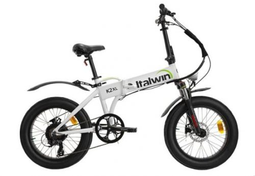 Bicicletta elettrica pieghevole Italwin K2XL