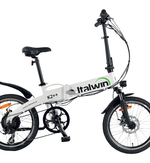 Italwin K2 ++   folding bike   battery innertube 9,6 ah