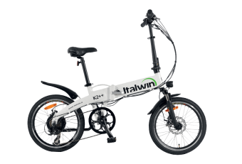 Italwin K2 ++ | folding bike | battery innertube 9,6 ah
