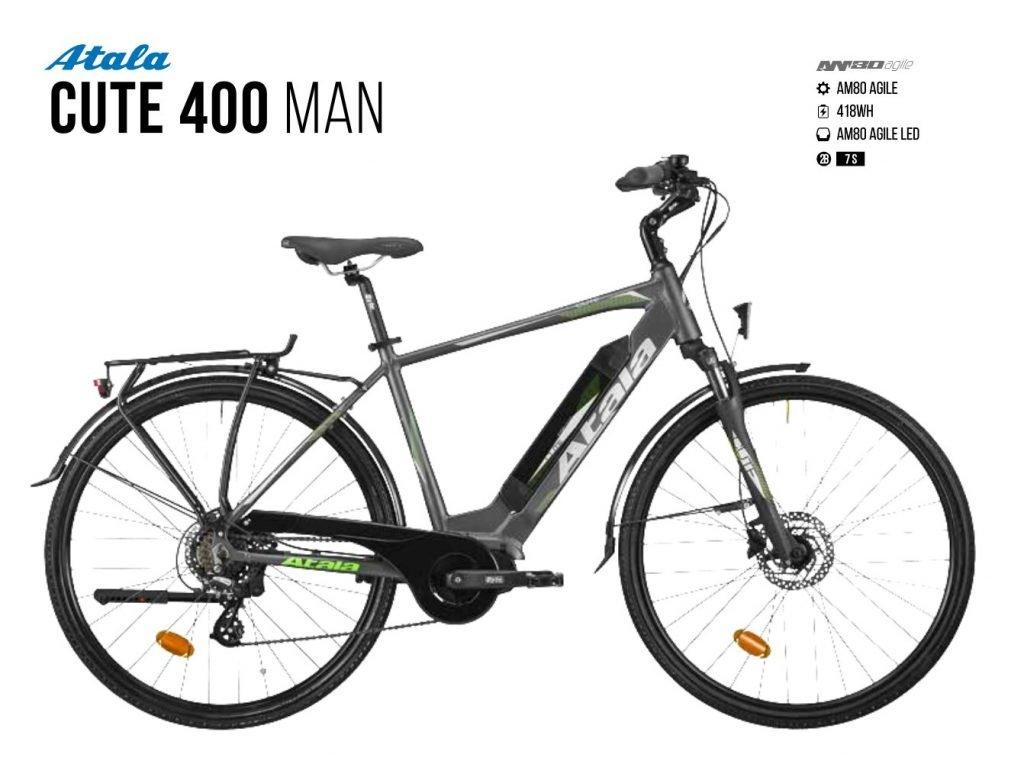 Atala Cute 400 man | Am 80 Agile | Battery 400 wh