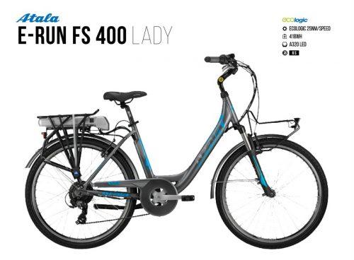 Atala E-Run Fs 400 lady | Battery 418 Wh | usata test