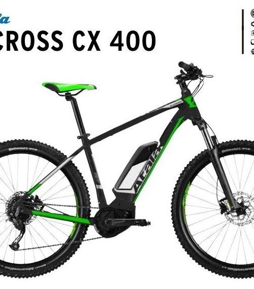 Atala B-Cross CX 400  | Bosch performance cx new | test