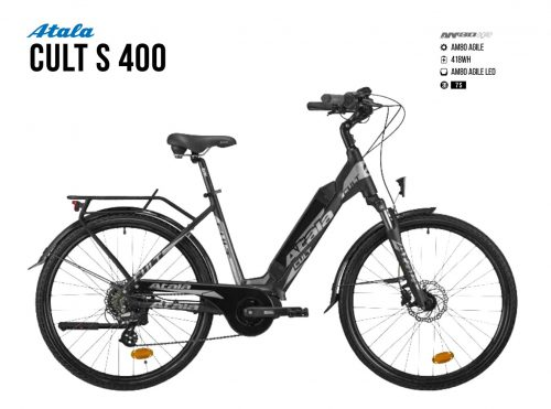 Atala Cult S 400 | Am 80 Agile | Battery 400 wh | TEST